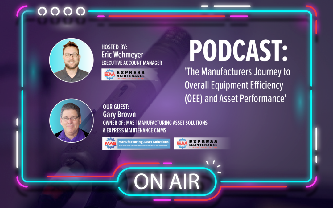 Overall Equipment Efficiency- EAM Webcast